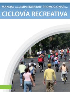 guía ciclovías recreativas