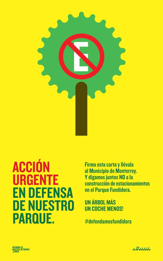 Acción Urgente en Defensa de Nuestro Parque Fundidora.