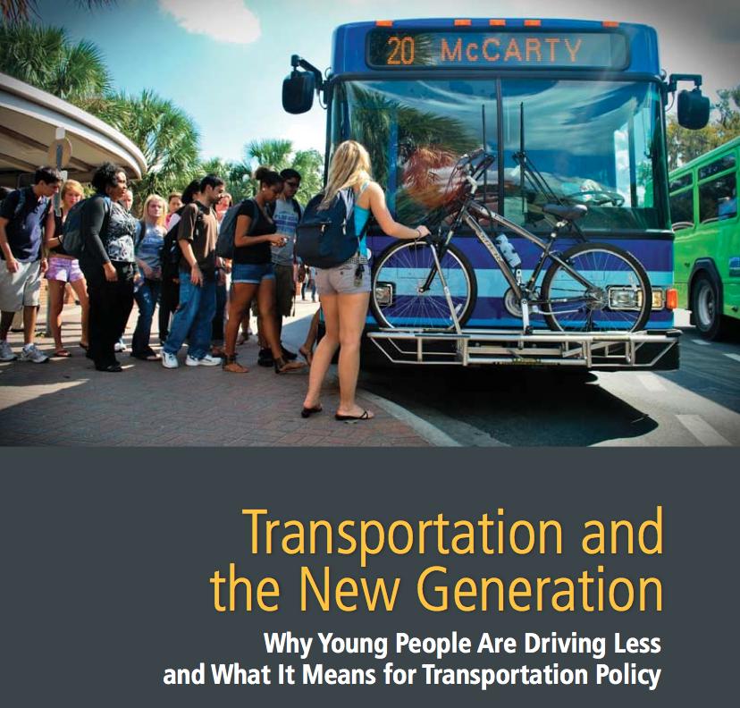 Transporte y nueva generación en Estados Unidos