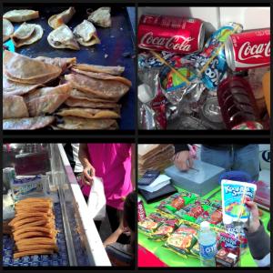 comida chatarra en San Pedro de Pinta