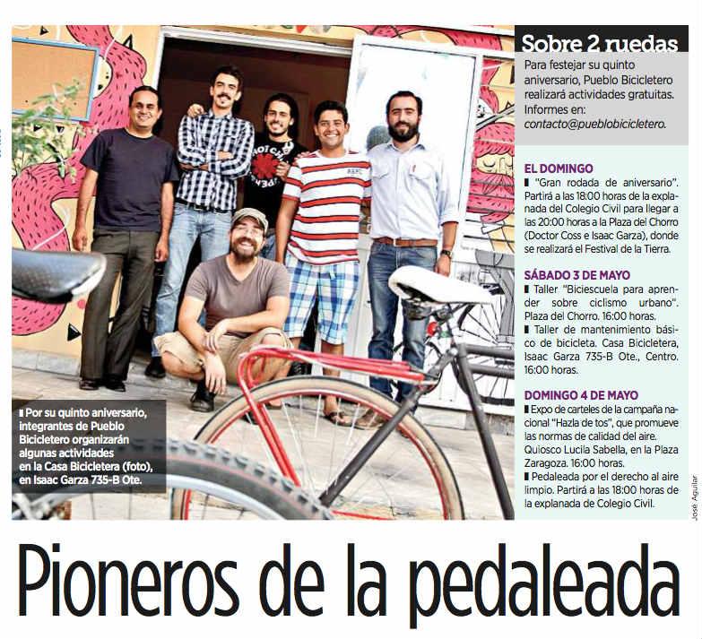 Pioneros de la pedaleada low