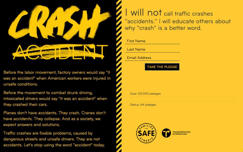 Crash, Not Accident WEB