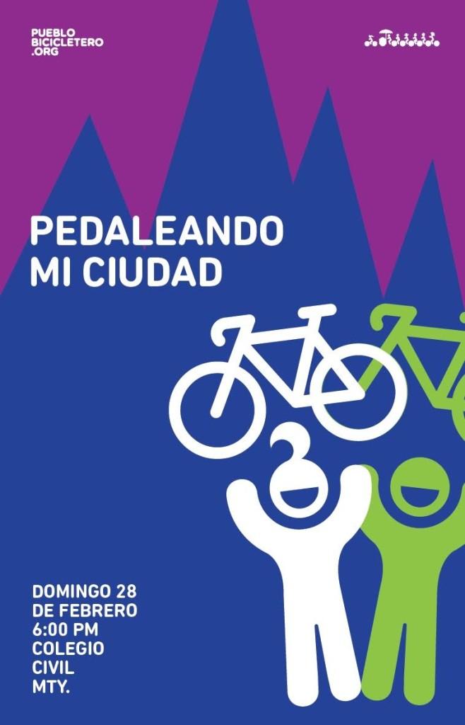 Poster pedaleada 258