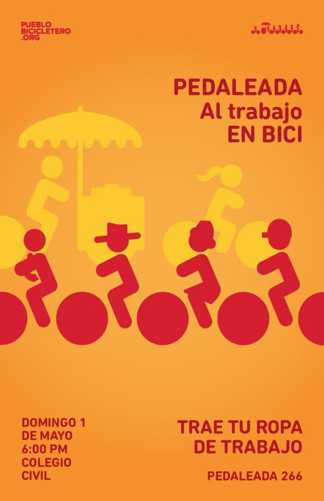 En Bici al trabajo 1-may-2016
